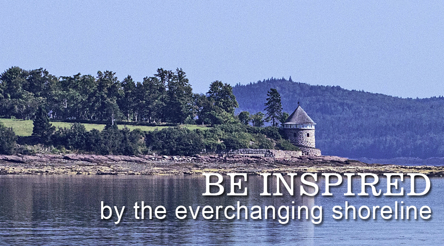 Be Inspired by the Everchanging Shoreline