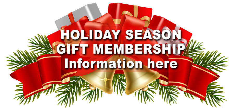 Ministers Island Christmas memberships